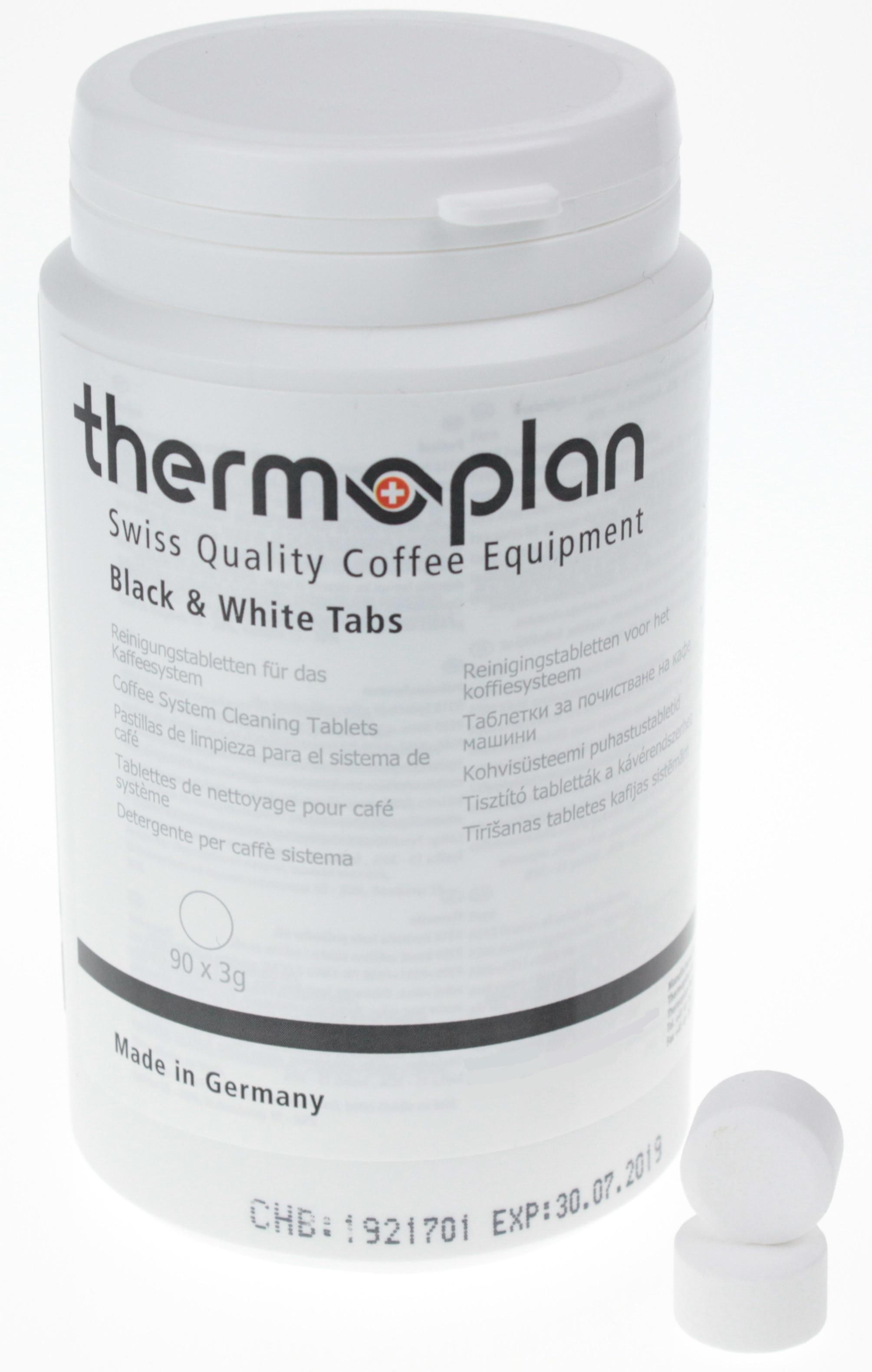 thermoplan reinigungstabletten f r tiger bw one und black white 90 x 3g. Black Bedroom Furniture Sets. Home Design Ideas